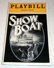 PLAYBILL ~ SHOWBOAT at the GERSHWIN THEATER, NYC ~ 1990's / Free Shipping!