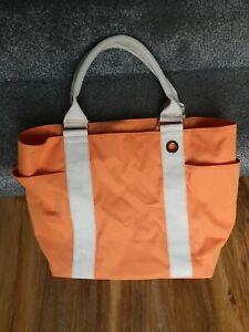 Estée Lauder womens Large Tote Shopping Beach Holiday Handbag Excellent