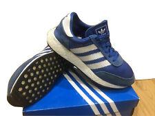 Zapatillas para hombre Adidas i5923 Talla 8 Azul