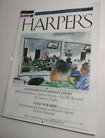 Harper's magazine 10/2013 Guantanamo Bay Kangaroo Court/Cold War Kids/Near Mint+