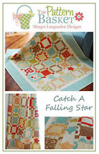CATCH A FALLING STAR Moda PATTERN BASKET Layer Cake Friendly QUILT PATTERN