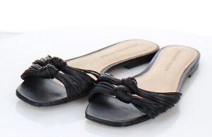 X38 $295 Women's Sz 8 M Veronica Beard Gemma Knotted Slide Sandal