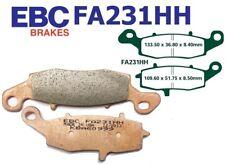 EBC plaquettes de freins fa231hh essieu avant droite suzuki sv 650 x/y/k1/k2 99-02