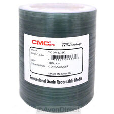 100 CMC Pro 52X Premium Silver Lacquer CD-R TY Technology [FREE Priority Mail]
