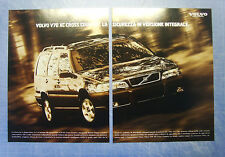 BELLEU998-PUBBLICITA'/ADVERTISING-1998- VOLVO V70 XC CROSS COUNTRY