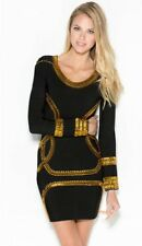 NWT Holt KIM BANDAGE IN BLACK Size Medium  $249