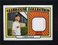 2021 Heritage Clubhouse Collection Relic #CCR-CS Chris Sale - Boston Red Sox