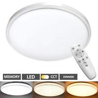 Lámpara LED De Techo Salón con Control Remoto 48W Techo Regulable