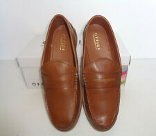 Mens OFFICE Tan Leather Shoes New Formal Slip On Penny Loafers Office Sizes 6-11