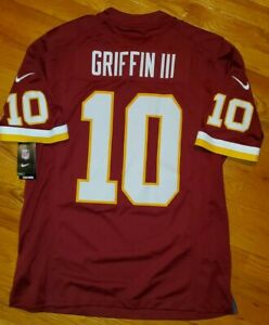 *SEWN #'s* NIKE GRIFFIN Washington REDSKINS Jersey Men XL football nfl shirt RG3