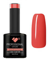 039 VB Line Pastel Coral Red - gel nail polish - super gel polish