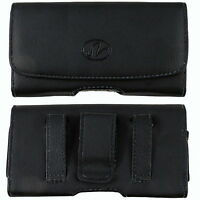 For Verizon LG  enV3 VX-9200 Leather Case Belt Clip Cover Holster