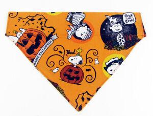 Snoopy Halloween Dog Bandana Over the Collar dog bandana Dog collar bandana