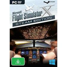 Microsoft Flight Simulator X Steam Edition PC PAL *NEW!* + Warranty!