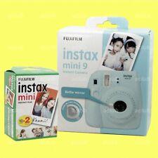 Fujifilm Instax Mini 9 Instant Film Camera (Ice Blue) with 20 Sheets