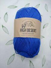 High Desert Sport Weight Yarn - 298 Yards - Juniper Berry (Dark Periwinkle Blue)