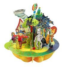 Pirouettes by Santoro - 3D Pop-up Greeting Card - Wizard of Oz