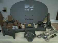 NEW Directv Kaku slimline satellite HD dish SL3 / 4 port LNB + * 50' OF CABLE *