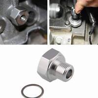 Car Auto Oil Pressure Sensor Adapter LS Engine Swap Male M16x1.5 Female 1/8 NPT