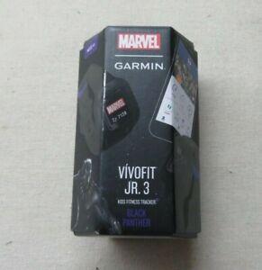 Garmin Vivofit Jr. 3: Marvel - Black Panther Kids Fitness Tracker NEW!!