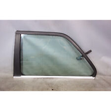 1988-1991 BMW E30 3-Series Coupe Late Model Left Rear Vent Window Glass w Chrome