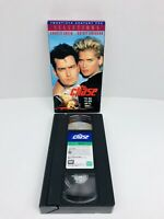 The Chase (1994) VHS Tape Action Comedy Charlie Sheen Kristy Swanson