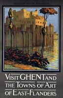 "Vintage Illustrated Travel Poster CANVAS PRINT Flanders Belgium 16""X12"""