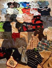 Great 47 Piece Baby Boy Clothes Lot 3-6 Months 6 Months