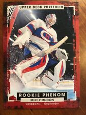 2015-16 UD Portfolio Rookie Phenom #240 Mike Condon Pack Fresh