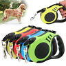 3/5M Long Retractable Dog Lead Tape Extendable Rope Leash For Pet Dog Cat HL