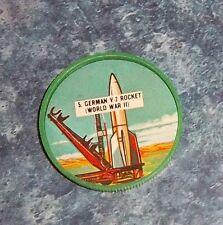 Dare Foods ,Krun-Chee ,Gordon's Krun-Chee Space Coins 1960's # 5 German V-2