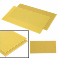 "Glassfibre Sheet Epoxy Glass Fiber 1mm G10 Fibreglass Plate 11.8"" x 5.9"" Yellow"