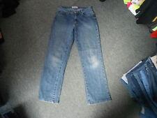 "Denim Co Straight Jeans Waist 30"" Leg 30"" Faded Dark Blue Mens Jeans"