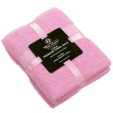 2 Piece Bath Sheet Towel Bale Set 100% Cotton Guest Bathroom Best Quality UK