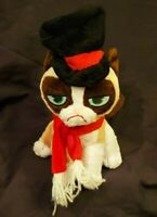 "9"" Scrooge Grumpy Cat Plush Stuffed Animal"