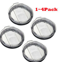 1~4 PCS Splash Spill Proof Lid for 30oz YETI Tumbler Cup Coffee Mug Replacement