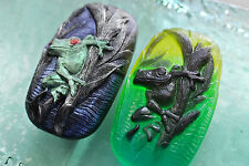 FROG - BEAUTIFUL SOAP BAR -  SILICONE MOULD - MOLD Free P&P