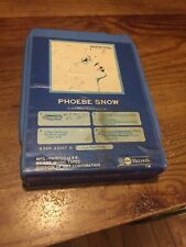 Phoebe Snow 1974 Shelter Recording Abc Records 8 Track Tape
