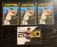 Kyle Tucker 2020 Topps Lot(4) Houston Astros
