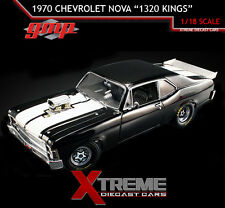 "GMP 18808 1:18 1970 CHEVROLET NOVA ""1320 KINGS"" NHRA DRAG CAR LIMIT ED OF 1,074"