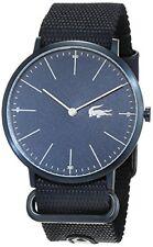 Lacoste Analógico casual Watch Moon azul de los hombres 2010874
