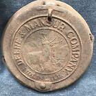 Antique JOHN DEERE MANSUR COMPANY CAST IRON CORN PLANTER BOX LID HORSE  farm