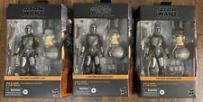 Lot of 3 Star Wars The Black Series Din Djarin The Mandalorian and Child