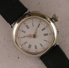 Lovely Vintage 120 Years Old Cylindre Swiss Wrist Watch Perfect Serviced