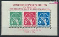 Berlin (West) Mi.-Nr.: Block1 (kompl.Ausg.) mit Falz 1949 Währungsges (9397916