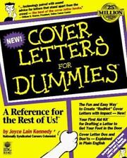 Cover Letters for Dummies by Joyce Lain Kennedy (1996, Paperback)