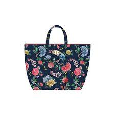 PiP Studio Beach Bag Good Night Blau Strandtasche Blumen Blüten Strand Urlaub