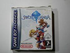 Sword of mana -    Nintendo GAME BOY ADVANCE GBA