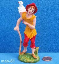 FONTANINI DEPOSE ITALY personaggio n. 21 sul tell personaggio 10 cm VINTAGE
