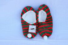 Gertex Women's Christmas Holiday Print Ballerina Slippers (Size S/M)